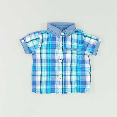 Camisa color Azul marca Early days 3 Meses  182843