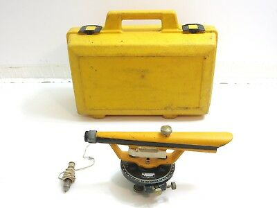 Berger Instruments Survey Transit Level 190 ? With Case And Plumb Bob 3W 28891