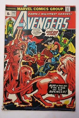 The Avengers #112 - 1st app. Mantis - GOTG2 - Marvel Comics