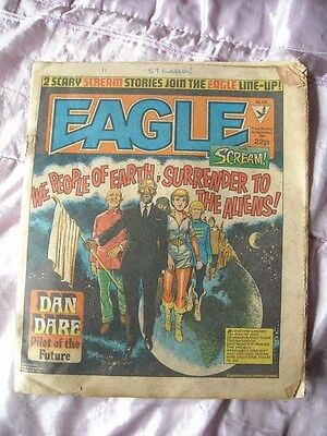 EAGLE and SCREAM COMIC - DAN DARE -  SEPTEMBER 1st 1984