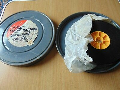 VINTAGE 16mm FILM MOVIE REEL c1980 VENDINO PACT IDENTICAL TWINS POST PUNK GROUP