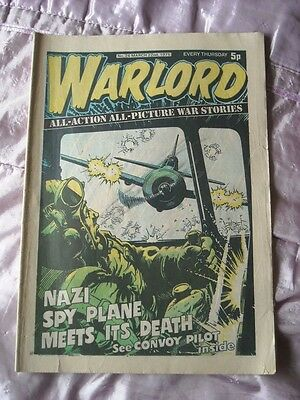WARLORD COMIC - MARCH 22nd 1975