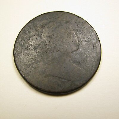 180(7?) Drapped Bust U.S. LARGE CENT cull