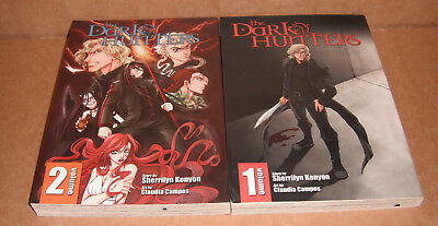 The Dark-Hunters Vol.1,2 Manga Graphic Novels Complete Set English