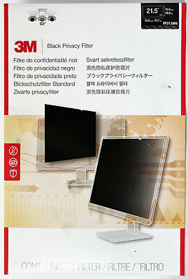 "3M 21.5 Inch Privacy Filter PF21.5W9 ""BLACK"" For Widescreen"