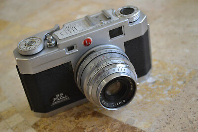 Petri 35 F2.8 Rangefinder 35mm Film Camera 1957 FREE Shipping