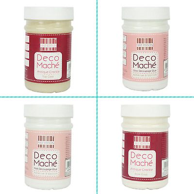 First Edition Deco Mache | Decoupage Glue Varnish Non-Toxic | 250ml Bottle