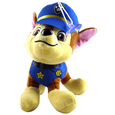 1pc 20cm CHASE - Paw Patrol Rescue Dog Cute Pup Stuffed Soft Plush Kid Child Toy