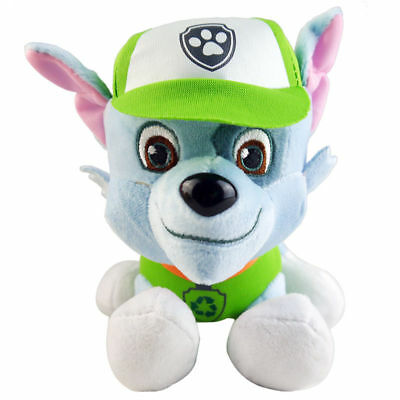1pc 20cm ROCKY - Paw Patrol Rescue Dog Cute Pup Stuffed Soft Plush Kid Toy
