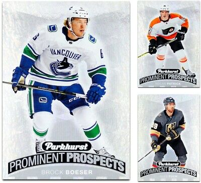 2017-18 Parkhurst Prominent Prospects **** PICK YOUR CARD **** From The SET