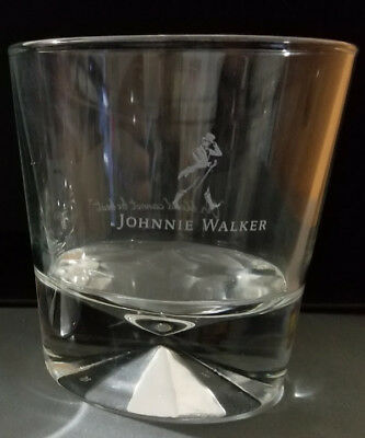 Johnnie Walker Black Label Whiskey 10 Oz. Glass 2016 Holiday Ltd. Edition