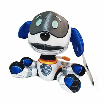 1pc 20cm ROBO-DOG - Paw Patrol Rescue Dog Cute Pup Stuffed Soft Plush Child Toy