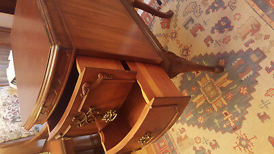 Pair Vintage Mid-Century  Night Stand Tables(2)
