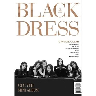 CLC - [Black Dress] 7th Mini Album CD+Booklet+PhotoCard+PostCard K-POP Sealed
