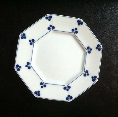 "Allegro in Glaze Blue By Fitz & Floyd 8"" Salad Plate"