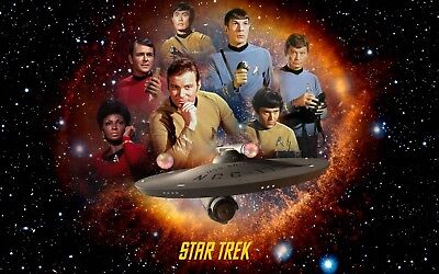Star Trek Original Cast Fridge Magnet
