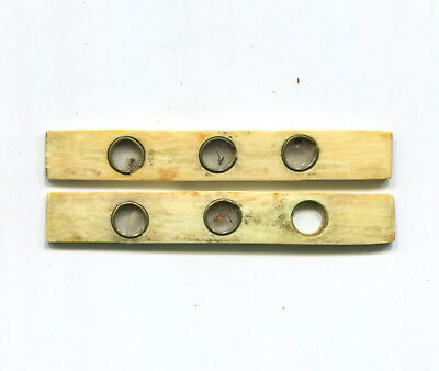 ca. 1800 Bone Microscope Slides / Sliders