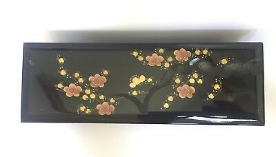 Vintage Sankyo Lacquered Music Box HALL Japan $49 Free Post