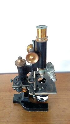 Antique Bausch & Lomb microscope