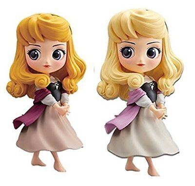 Q posket Princess Aurora figure Disney Characters Briar Rose set of 2 Japan NEW