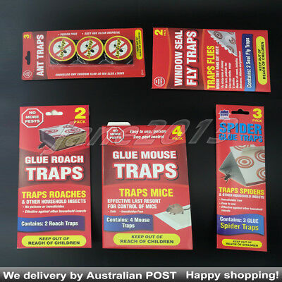 Ant Roach Mouse Spider Fly Glue Traps Sticky Fly Insect Catcher