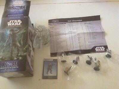 Star Wars Miniatures Opened Force Unleashed Pack Imperial Assault, Legion Scale