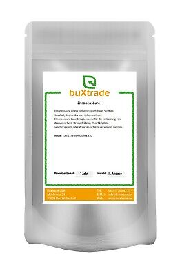 500 G Citric Acid Food Quality E330, Bio, Descaler, Cleaner