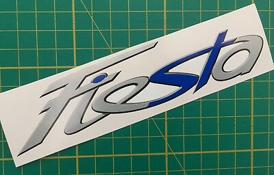 FIESTA ST car vinyl sticker decal FORD Blue