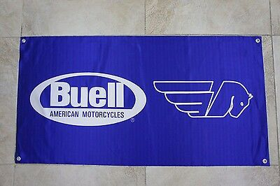 Buell Motorcycle Banner Flag limited edition Chooper Enduro Naked Racing Harley