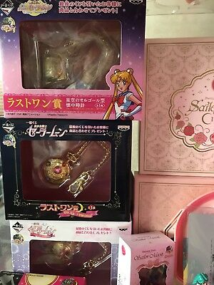 Sailor Moon Ichibankuji Last Prize Pocket Watch All 3
