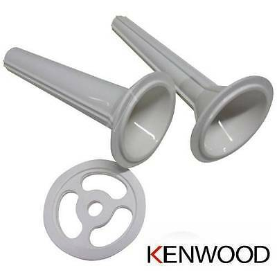 KENWOOD KW658558 Entonnoir saucisse Blanc A950 MG800 MG901 AT950 embout hachoir