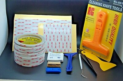 3M™ VHB™ RP45 Double Sided Tape bundle, 3 meters,wipes,tools,automotive tape