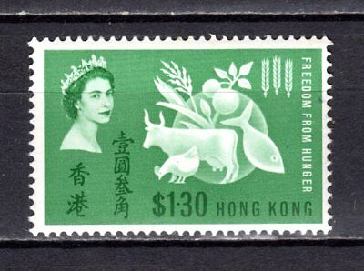 Hong Kong China 1963 Qeii Freedom From Hunger Mnh Stamp Unmounted Mint