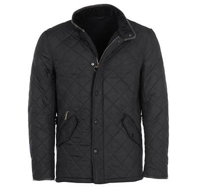 Barbour Lifestyle Powell Quilted Jacket, Black size xxl