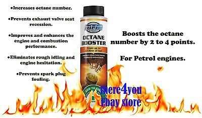 Octane Booster Improves Combustion Protects Exhaust Valve MPM Spark Plug Protect