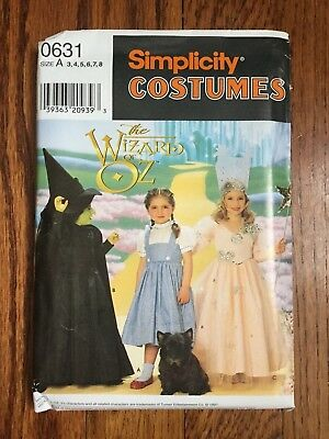SIMPLICITY Halloween Costume Sewing Pattern #9895 M&Ms Family Set ...
