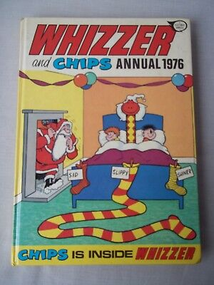 Vintage WHIZZER and CHIPS Annual 1976