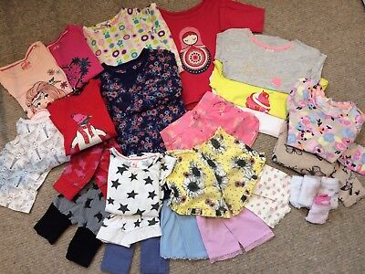 HUGE 25 Piece Kids Girls Clothes Bundle, 3-4 Years, Mothercare, Boots, M&S, Etc.