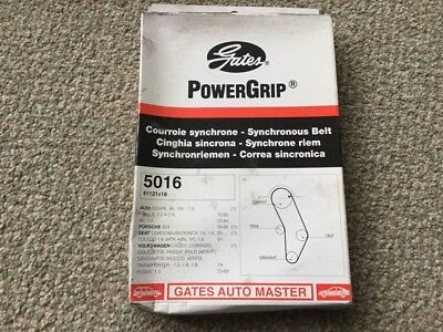 Gates Powergrip 5016 Timing Cam Belt - Audi 80, Porsche 924, VW Scirocco, Etc