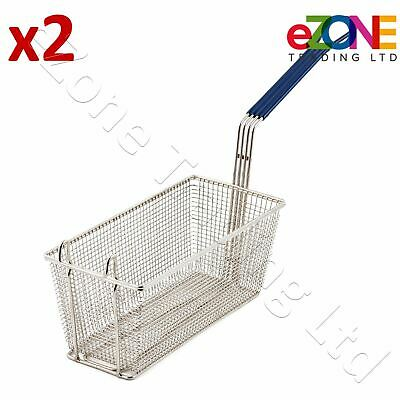 2X Frying Basket for INFERNUS Chip Fish Fryer Heavy Duty Gas Electric and LPG