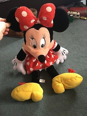 LARGE Disney Store Minnie Mouse Soft / Plush Toy
