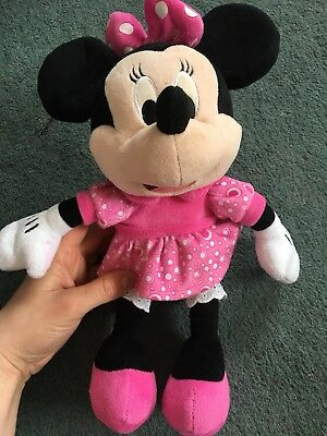DISNEY Minnie Mouse Baby Soft Cuddly Activity Talking Musical Plush Toy