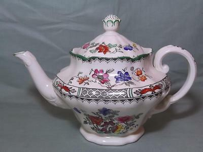 Spode Chinese Rose Small Teapot ¾-Pint Max.