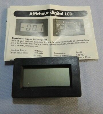 Digital Panel Meter PM-438/428 LCD
