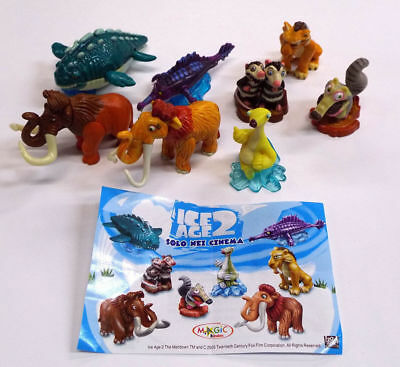 ➡ KINDER 2005 ☆ S 351 à S-358 COMPLET : ICE AGE 2 ☆ 8 Fig. + 1 BPZ ☰