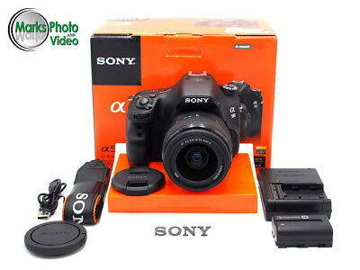 Sony Alpha SLT-A58 Camera with DT SAM II 18-55mm Lens #8782