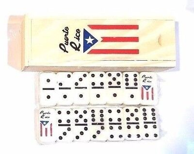Puerto Rico Flag Double Six Dominos Dominoes Boricua Rican Travel Size YOU PICK