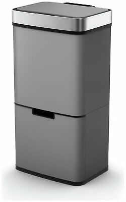 Morphy Richards 75 Litre Recycle Bin - Titanium V103064