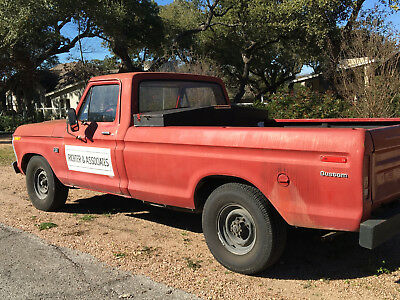 1975 Ford F-250  1975 ford