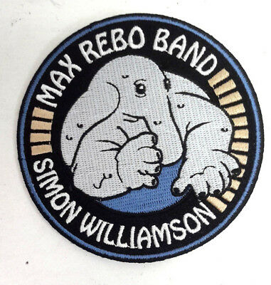 """Max Rebo Band Star Wars 4"""" Tall DELUXE Patch- Mailed from USA (SWPA-MRB)"""